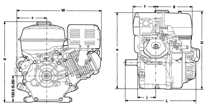 actual power output for the engine installed in the final machine will vary  depending on numerous factors, including the operating speed of the engine  in